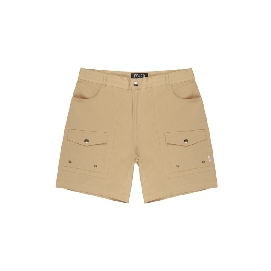 CAMP SHORT PANTS / KHAKI
