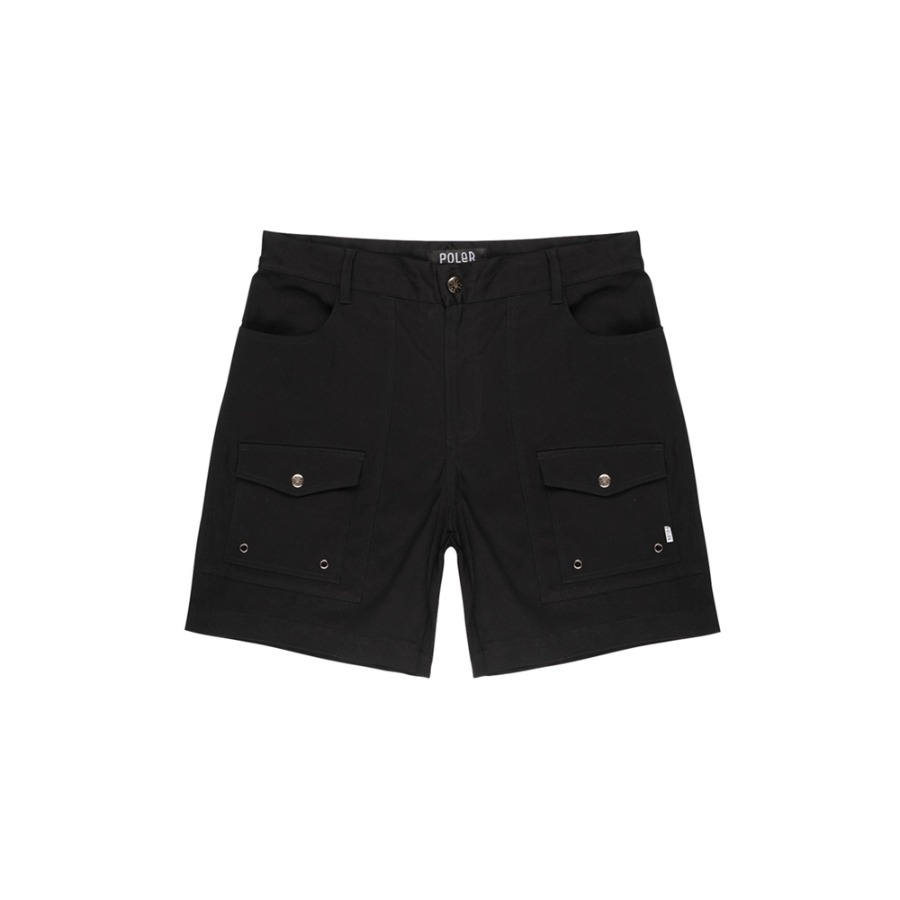 CAMP SHORT PANTS / BLACK