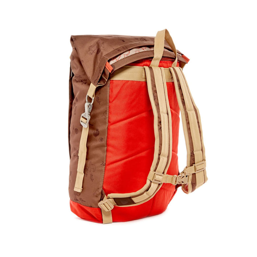 ROLLTOP 2.0 CAMPALOGUE BISON/BRIGHT RED(21L)
