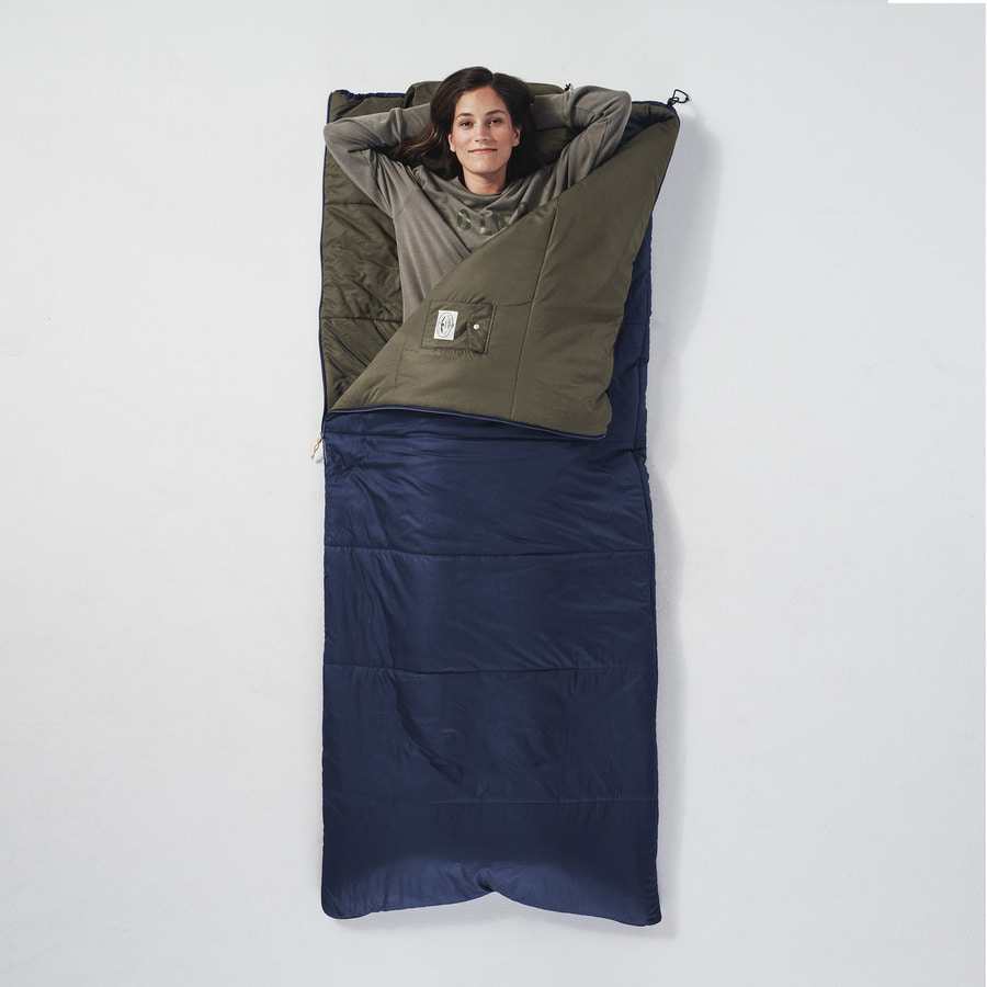 REVERISBLE SLEEPING SACK NAVY