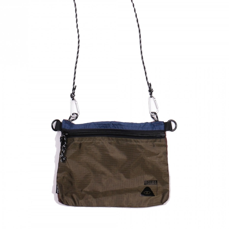 STUFFABLE POUCH LARGE - OLIVE/NAVY