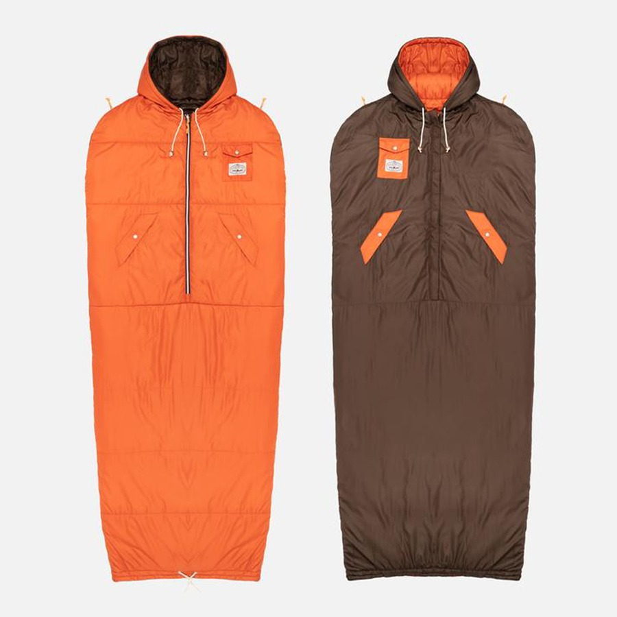 REVERSIBLE NAPSACK ORANGE/BROWN