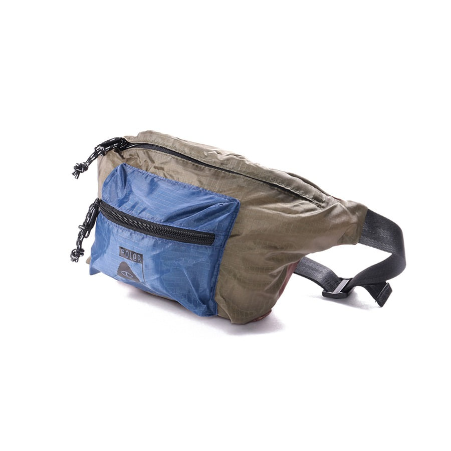 STUFFABLE FANNY PACK OLIVE/NAVY