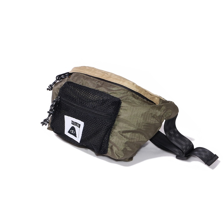 STUFFABLE FANNY PACK BEIGE/OLIVE