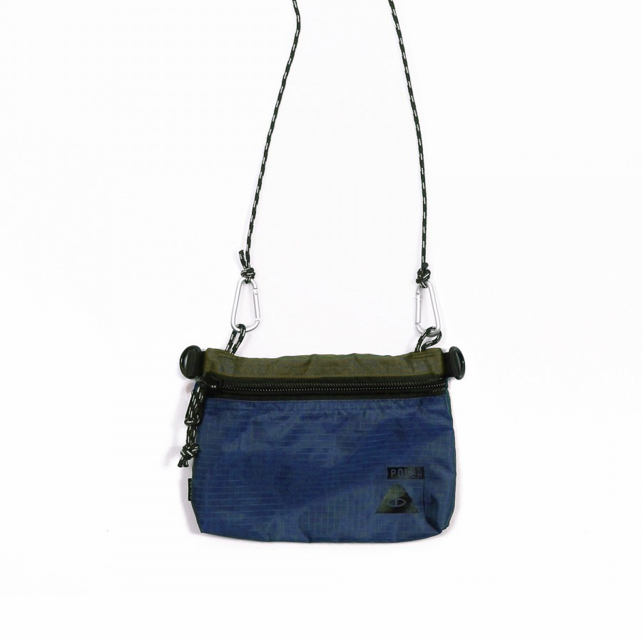 STUFFABLE POUCH SMALL OLIVE/NAVY