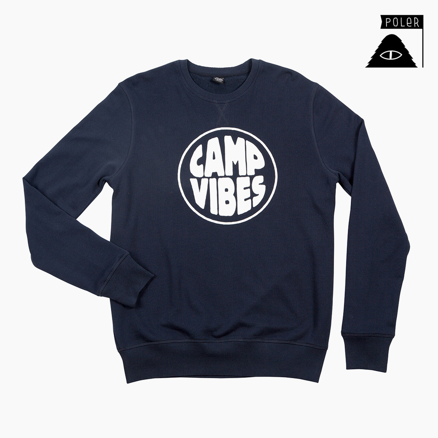 CREW NECK - POP TOP NAVY