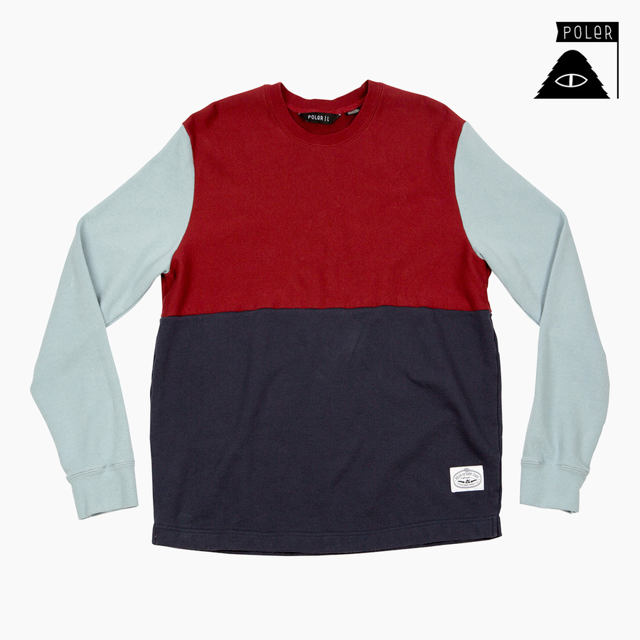 CREW NECK - FIFTY 50 MERLOT