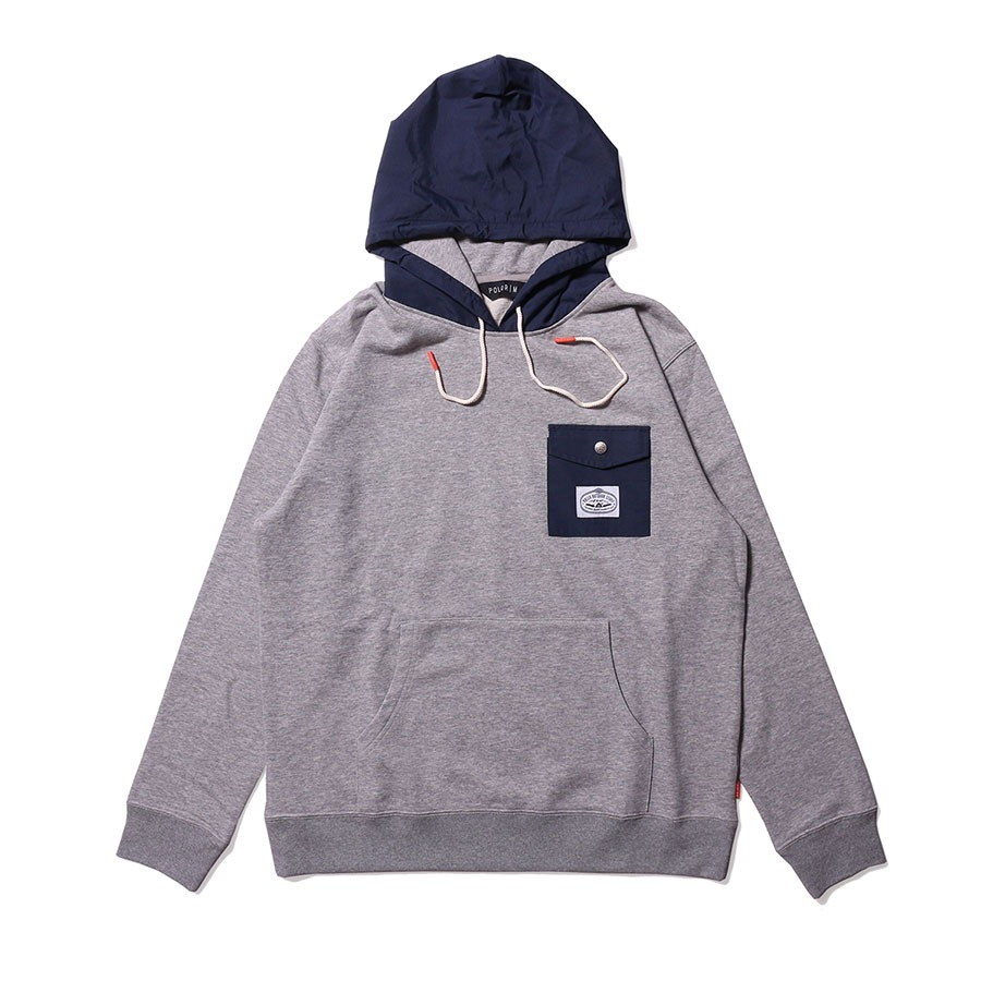 BASSWOOD HOODIE HEATHER GRAY