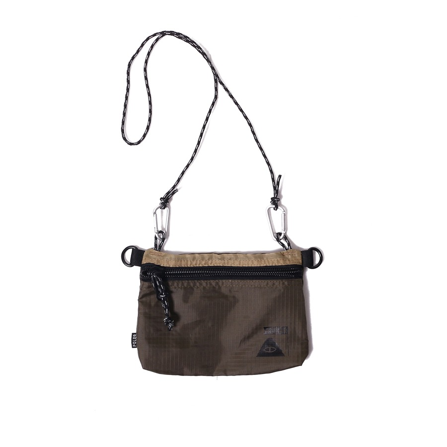 STUFFABLE POUCH SMALL BEIGE/OLIVE