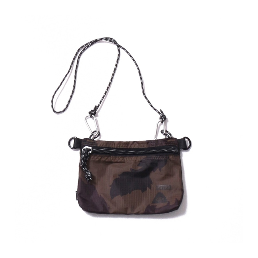 STUFFABLE POUCH SMALL OLIVE FURRY CAMO