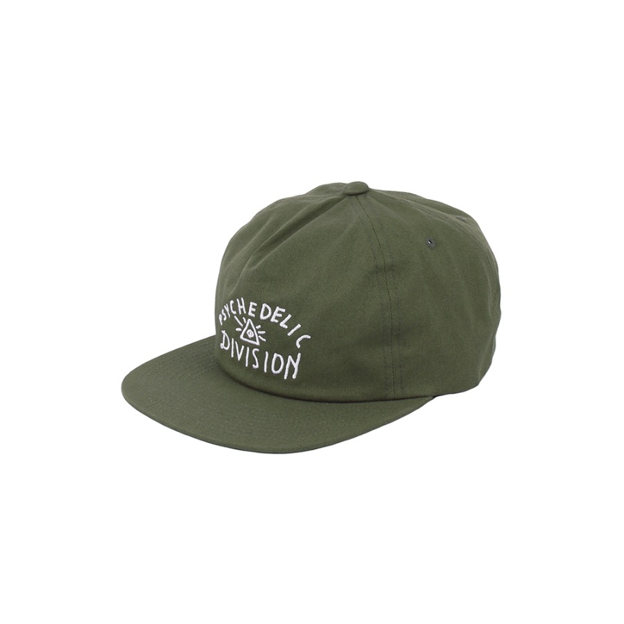 PSYCH DIVISION HAT / OLIVE
